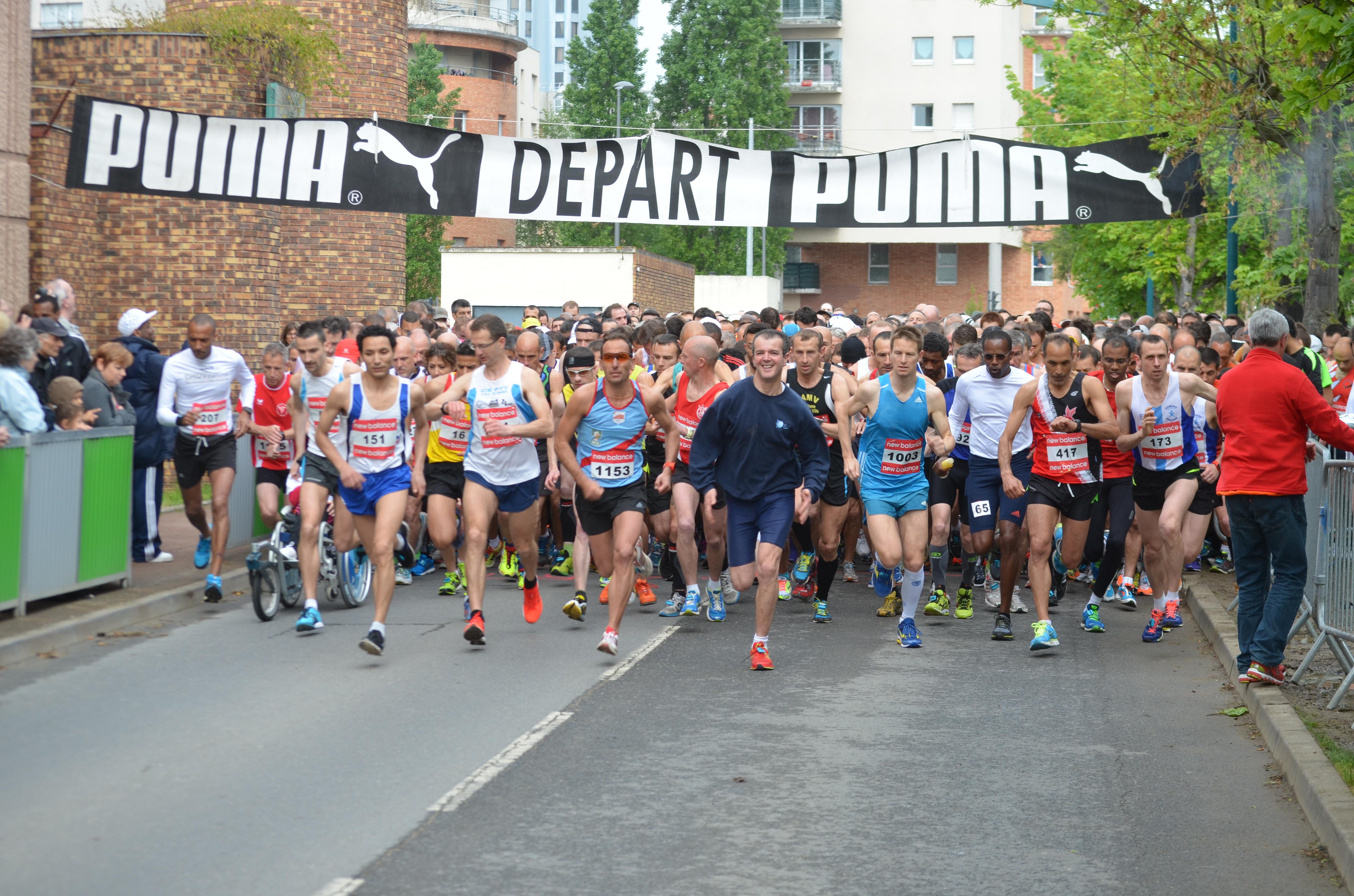 depart - course du muguet 2014