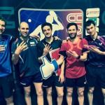 tennis de table - mondiaux par équipes - marcos freitas